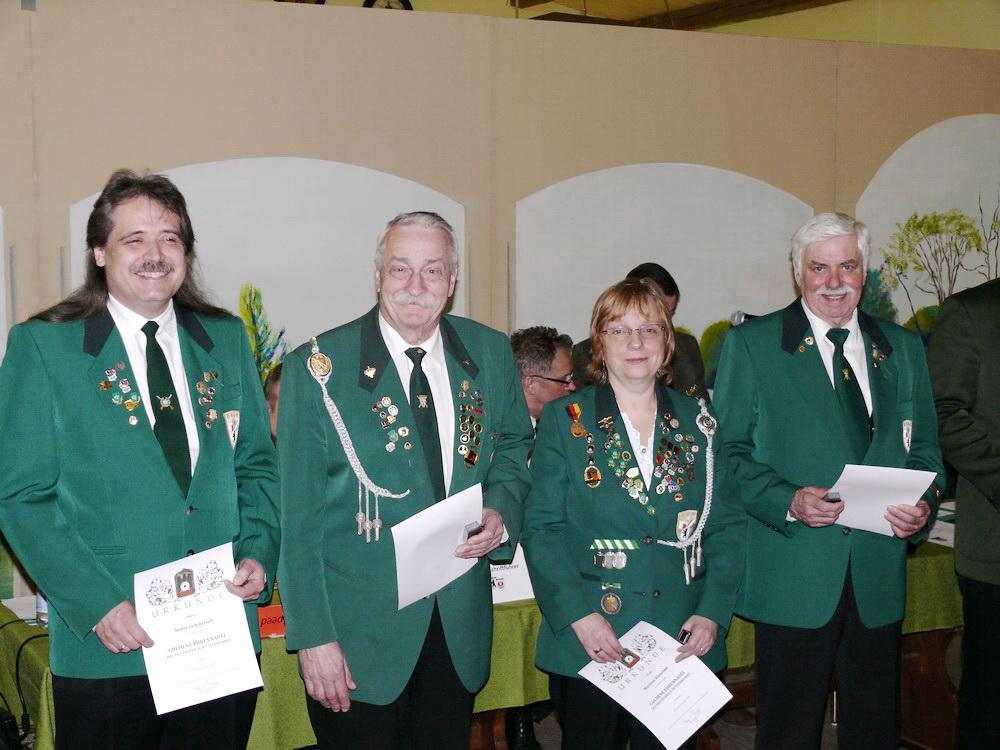 Mitgliederehrung beim SVBB