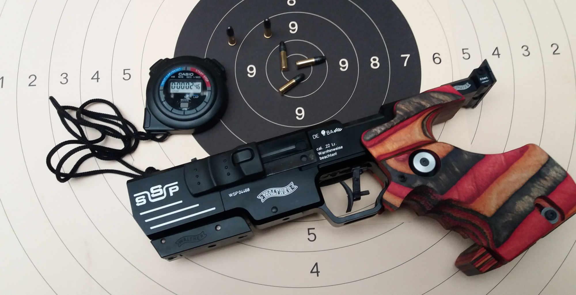 KK-Sportpistole Walther SSP