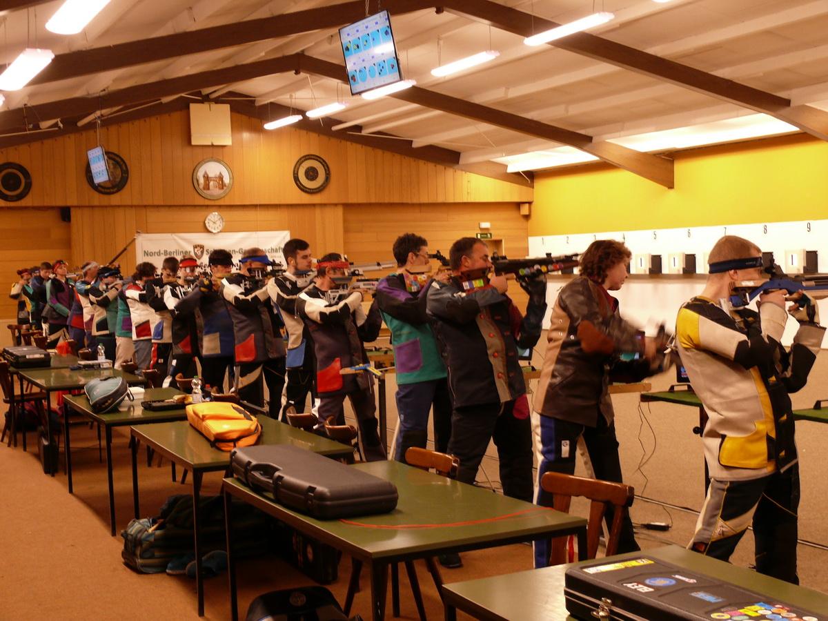 Landesliga Luftgewehr bei der NBSG