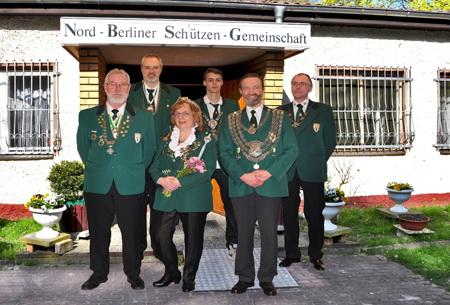Königshaus 2016/17 der Nordberliner Schützengemeinschaft