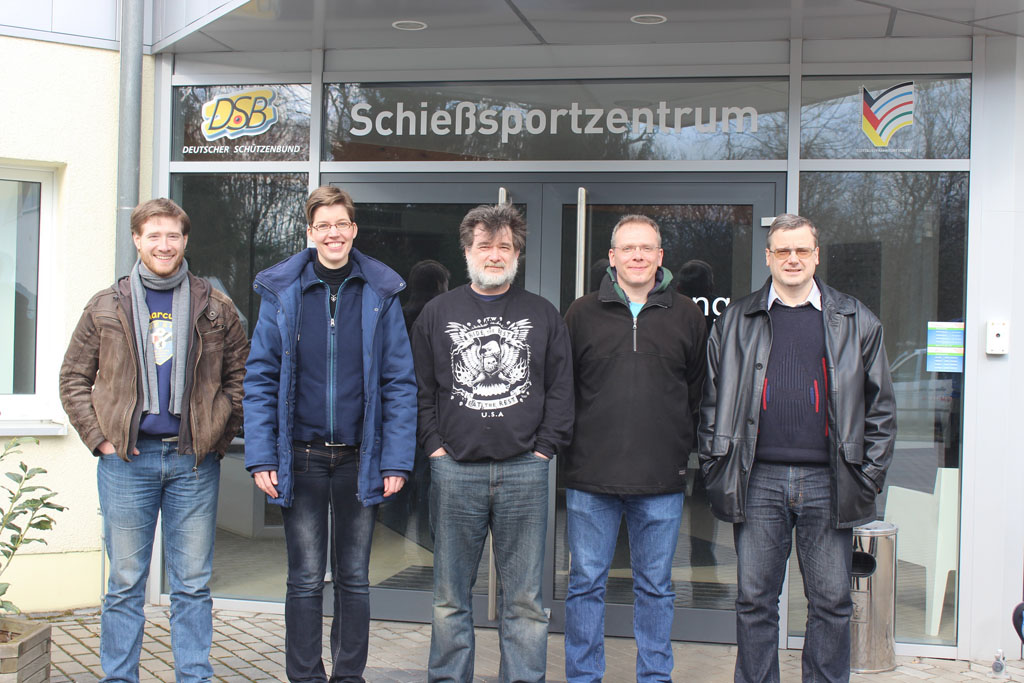 Relegationswettkampf 2. Bundesliga Ost Luftpistole gewonnen
