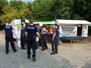 Tag der offenen Tür bei der Berliner Polizei in Ruhleben