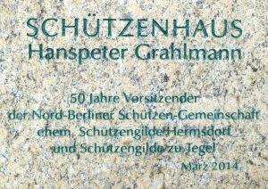 Verabschiedung von Hanspeter Grahlmann