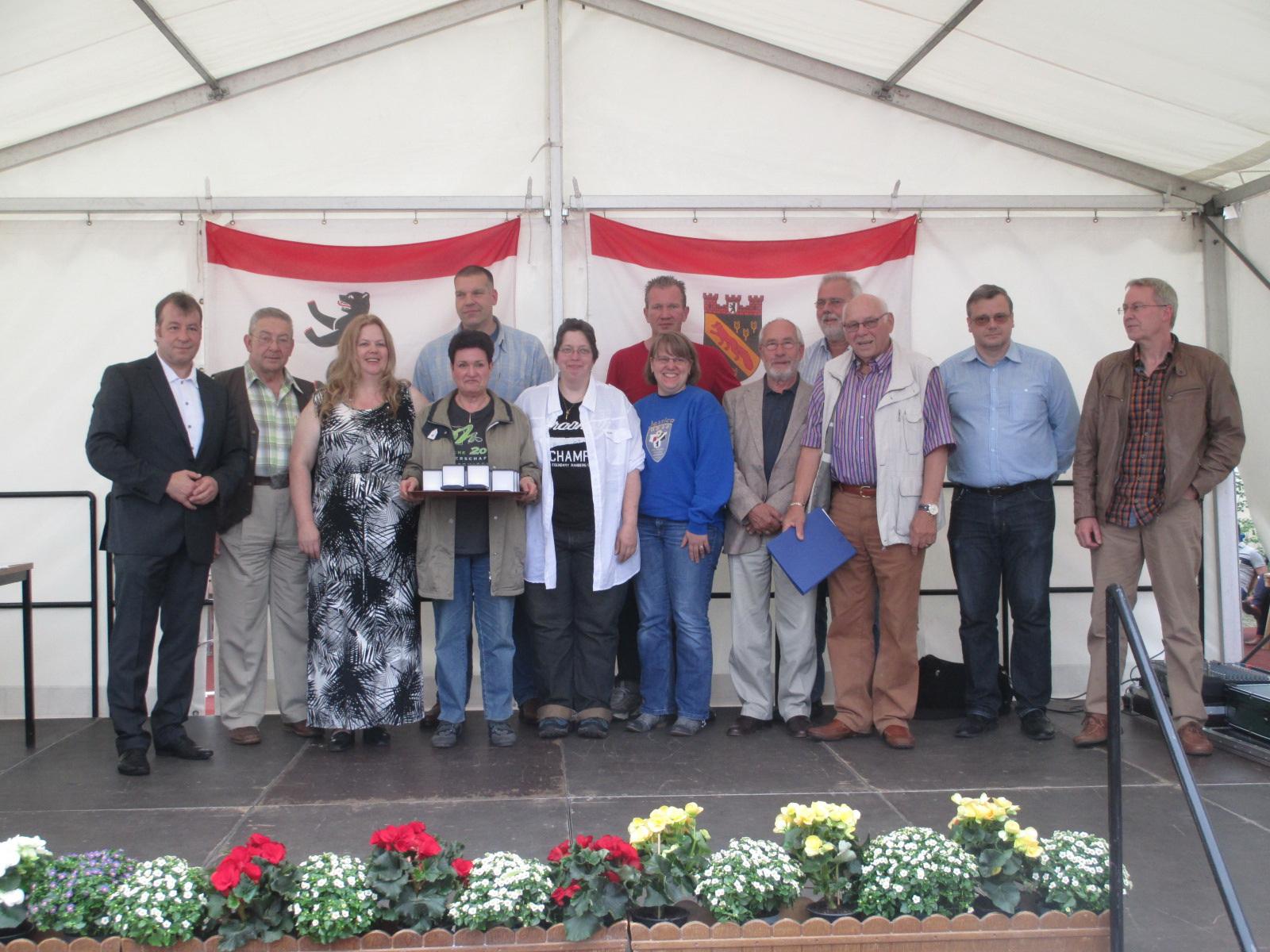 Sportlerehrung 2015 vom Bezirksamt Reinickendorf 2015