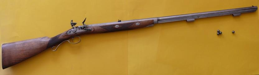 Vorderlader Steinschloßgewehr