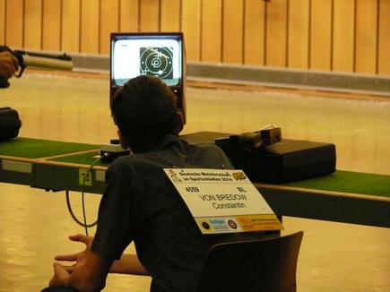 Constantin bei den Deutschen Meisterschaften in München